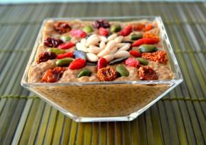 Sunflower Mango Pudding