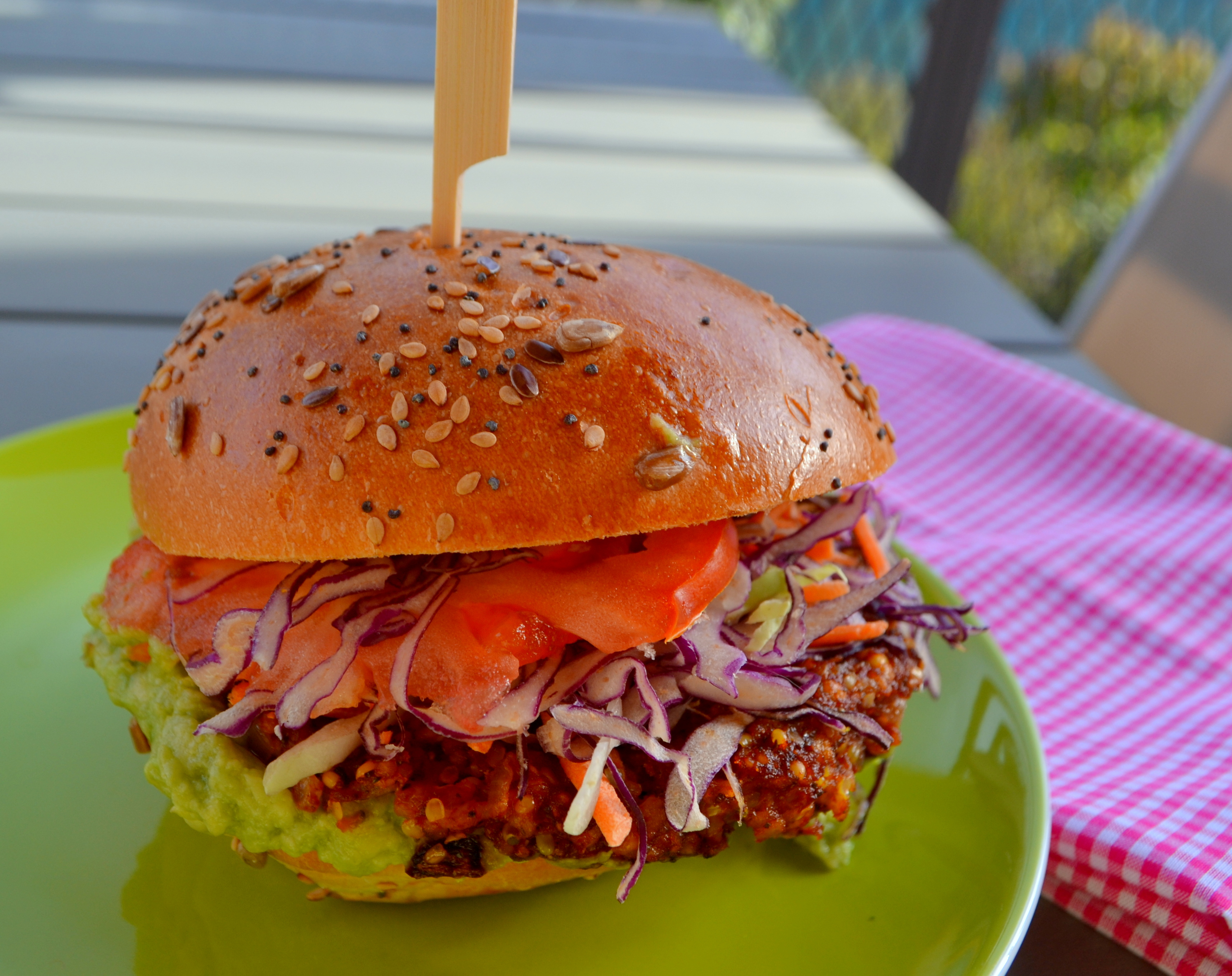 Burger aus Sorghumhirse – Weltküche